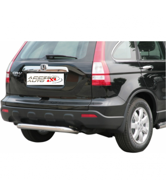 PROTECTION ARRIERE HONDA CR V 2007-2010 INOX 76mm