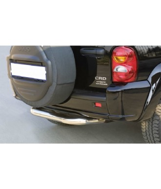 PROTECTION ARRIERE JEEP CHEROKEE 2001-2007 INOX 76mm