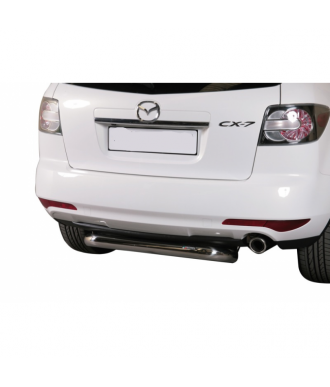 PROTECTION ARRIERE MAZDA CX 7 2010-2012 INOX  76mm