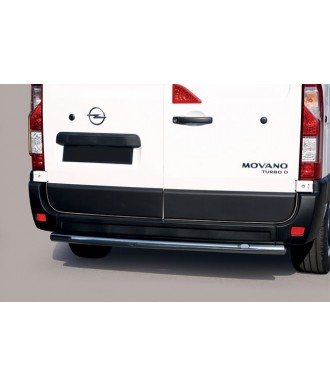 PROTECTION ARRIERE OPEL MOVANO L3 2019-AUJOURD'HUI INOX  50mm