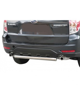 PROTECTION ARRIERE SUBARU FORESTER 2008-2012 INOX 63mm