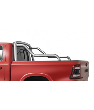 ROLL BAR-DODGE RAM 1500-2019-AUJOURD'HUI-INOX DOUBLE BARRES
