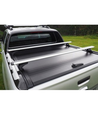 BARRES-TRANSVERSALES-NISSAN-NAVARA-NP-300-2015-AUJOURD'HUI  COUVRE BENNE COULISSANT PRO ROLL