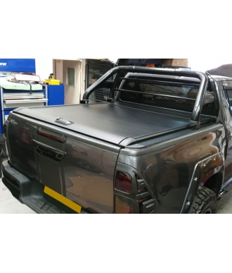 COUVRE-BENNE-FORD RANGER-DOUBLE-CABINE-2012-AUJOURD'HUI  COULISSANT PRO ROLL NOIR