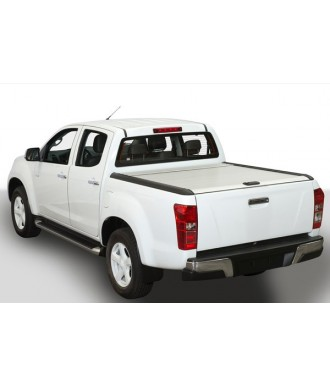 COUVRE-BENNE-COULISSANT-ISUZU-D-MAX-EXTRA-CABINE-2012-2020- MOUNTAIN TOP GRIS