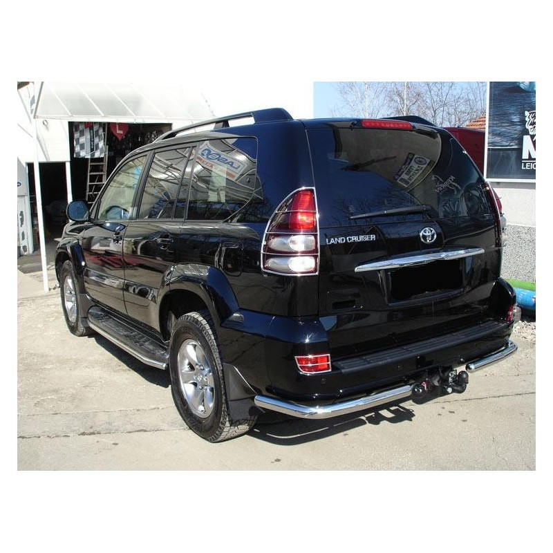 Marche pieds-TOYOTA LAND CRUISER 200 2007-2012 INOX Tubulaire