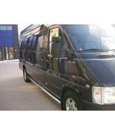 Marche pieds tubulaire Inox-LNE-VOLKSWAGEN-CRAFTER-COURT-2006-