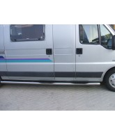 Marche pieds tubulaire Inox-VOLKSWAGEN-CRAFTER-LONG-2006-