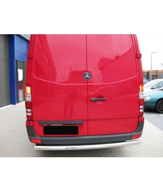 PROTECTION ARRIERE MERCEDES SPRINTER 2006-2018 COURT INOX