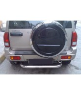 Protection PC arriere inox-SUZUKI-GRAND-VITARA-2006-2012-