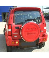 Protection PC arriere inox-SUZUKI-JIMNY-1998-2005-