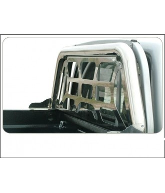 ROLL BARS INOX SIMPLE BARRE + SEPARATION-FORD-RANGER-2012-2017-