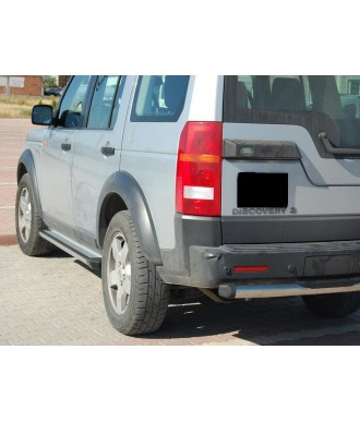 marche pieds-LAND-ROVER-DISCOVERY-3-2005-2009-Aluminium GRD