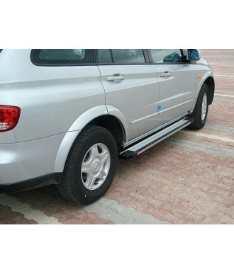 marche pieds aluminium plat GRD-SSANGYONG-ACTYON-SPORTS-2012-2015-