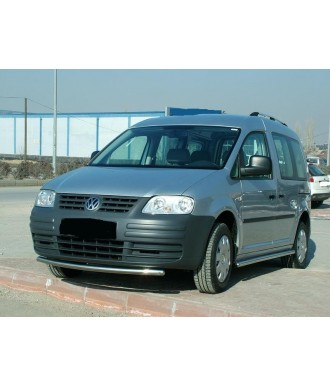 PARE BUFLE-VOLKSWAGEN-CADDY-2003-2015-INOX - PROTECTION BASSE