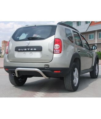 Protection-ARRIERE-DACIA-DUSTER-4X4-2010-2017 INOX