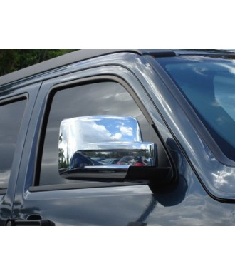 Couvre Retroviseurs Chrome-DODGE-NITRO-