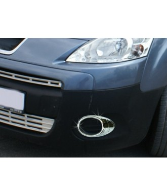 Entourages Anti Brouillard Chrome-BERLINGO-2008-2012-