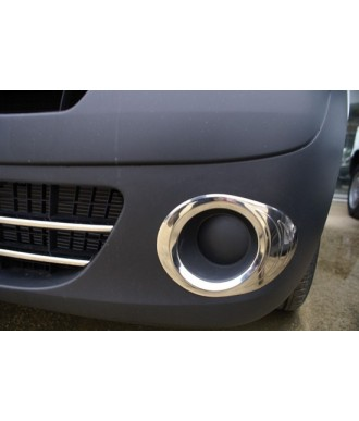 Entourages Anti Brouillard Chrome (2 pieces) RENAULT KANGOO (2008 +)