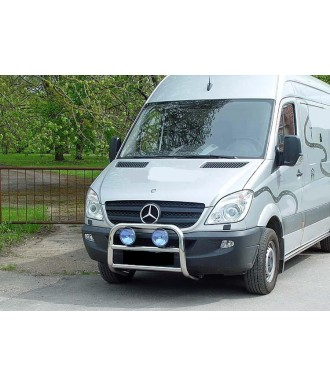 PARE BUFFLE-MERCEDES-SPRINTER-2013-2018 HOMOLOGUE INOX