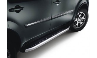MARCHE PIEDS INOX / ALUMINIUM-VW-CRAFTER- CHASSIS LONG-