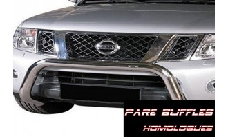 Protection Avant Inox -Pare Buffle Homologué-JEEP-COMMANDER-